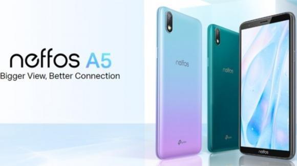 Neffos A5: ufficiale l'ultralow cost animato dal leggero Android Pie Go Edition