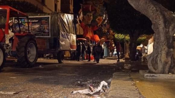 Dramma al Carnevale di Sciacca: bimbo di quattro anni muore cadendo da un carro allegorico