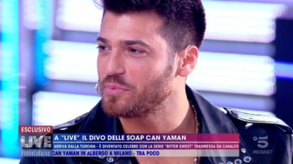 Live – Non è la D'Urso, l'intervista a Can Yaman