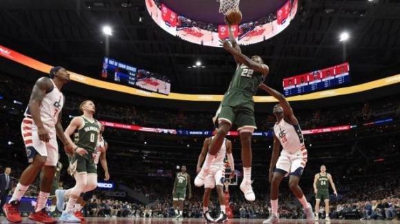 NBA, 24 febbraio 2020: Bucks vincenti a Washington dopo un supplementare, i Clippers stoppano i Grizzlies