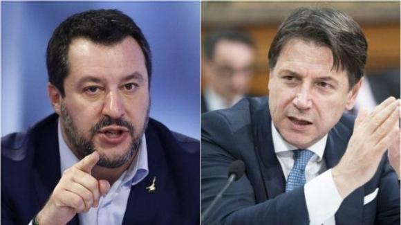 Coronavirus: Salvini critica Conte proponendo un decalogo di soluzioni