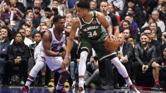 NBA, 25 febbraio 2020: trionfo Bucks sul campo dei Raptors, i Lakers regolano i Pelicans