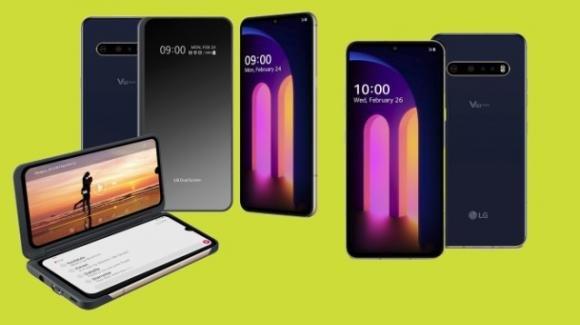 LG V60 ThinQ 5G: ufficiale il top gamma con 5G e doppio display OLED
