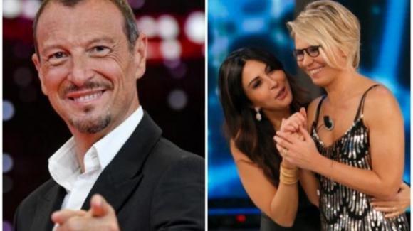 Sanremo 2021: possibile la conduzione di Maria De Filippi e Sabrina Ferilli, con Amadeus