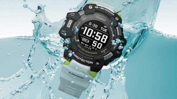 G-Shock GBD-H1000: da Casio lo sportwatch rugged con GPS e cardiofrequenzimetro