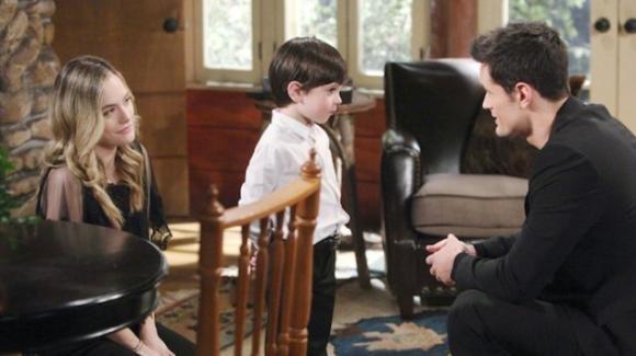 Beautiful, anticipazioni americane: Hope diventa la mamma di Beth e Douglas