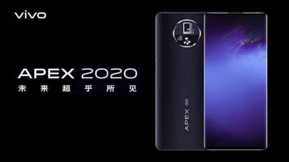 Vivo APEX 2020: ufficiale il concept phone con tecnologie rivoluzionarie