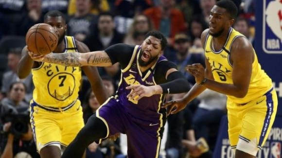NBA, 27 febbraio 2020: Lakers straripanti sul parquet dei Warriors, i Thunder bloccano i Kings