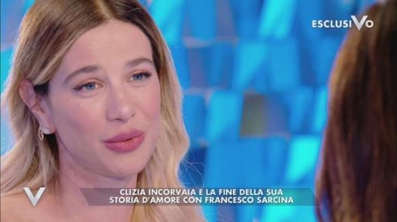 """Verissimo, Clizia Incorvaia: """"Non dormo da due notti"""", i rapporti con Francesco Sarcina e i pensieri su Paolo Ciavarro"""