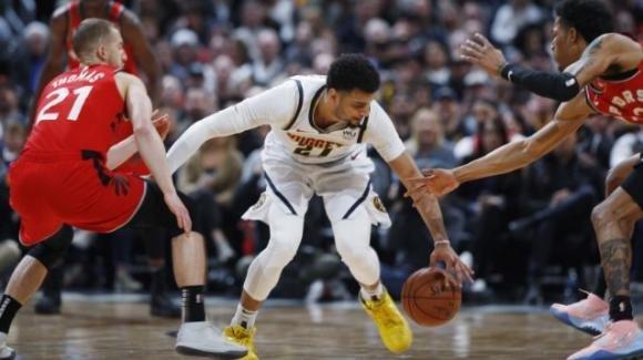 NBA, 1 marzo 2020: i Nuggets passano contro i Raptors, i Clippers sottomettono i 76ers