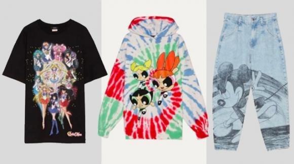 Bershka: nuova collezione dedicata a Sailor Moon, Topolino e Le Superchicche