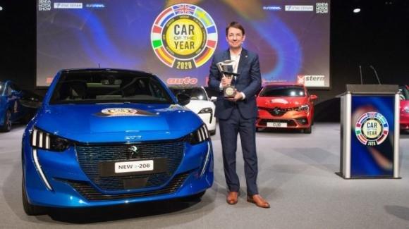 """Peugeot 208 si aggiudica il premio """"Auto dell'anno 2020"""""""