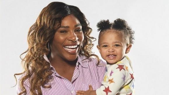 Serena Williams e la figlia Olympia regine dei social