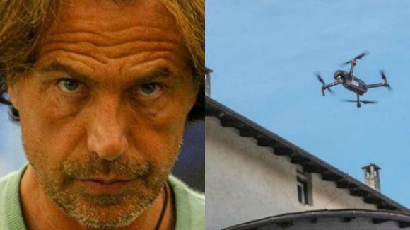 Grande Fratello Vip, un drone vola sulla Casa: ecco il messaggio contro Antonio Zequila