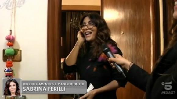 """Amici 19, lo scherzo di Maria De Filippi a Sabrina Ferilli: """"Tu sei bugiarda! Sei proprio una cialtrona!"""""""