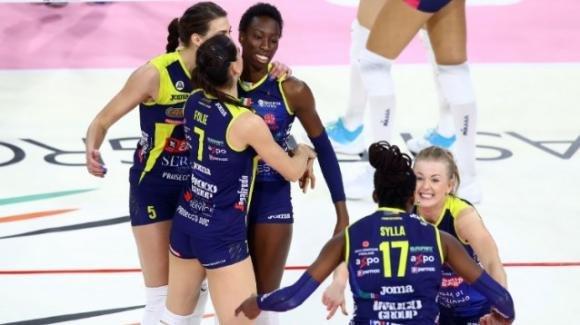 Samsung volley: Conegliano batte 3-0 Brescia