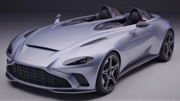 Aston Martin V12 Speedster, la supercar col fascino vintage della barchetta