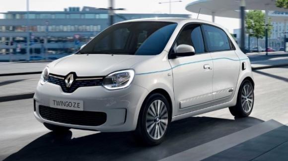 Renault Twingo Z.E: presentata la citycar 5 porte 100% ecologica
