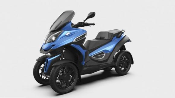 eQuooder: ufficiale il nuovo scooter 4 ruote a trazione elettrica