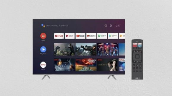 Ecco le nuove smart TV di Vu Technologies, con display 4K e Android TV