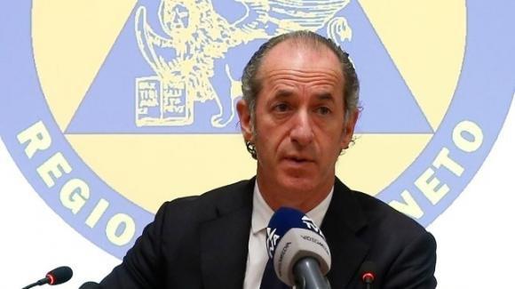 """Coronavirus, Zaia: """"Il Veneto è in piena guerra"""""""