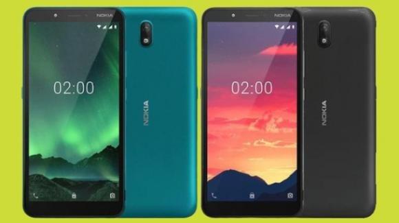Nokia C2: ufficiale lo smartphone low cost di HDM Global, con 4G