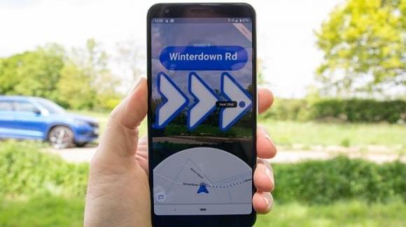 Google Maps: in test l'accesso semplificato al Live View