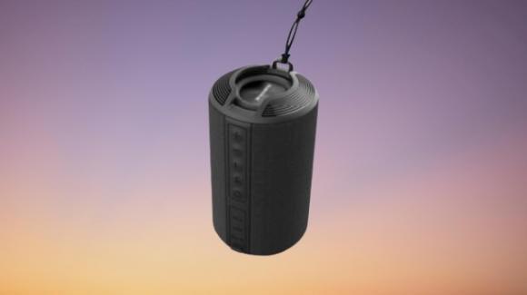 AmbraneBT-83: speaker Bluetooth rugged con diverse feature smart