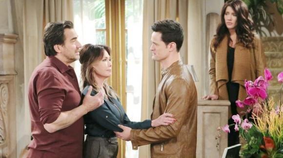 Beautiful, anticipazioni puntata 16 marzo 2020: Thomas trova conforto in Hope dopo la morte di Caroline