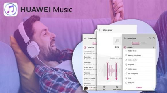 Huawei Music: disponibile anche in Europa e Italia il music streaming alternativo
