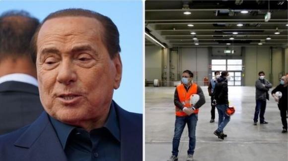 Silvio Berlusconi dona 10 milioni di euro alla regione Lombardia per l'ospedale in Fiera