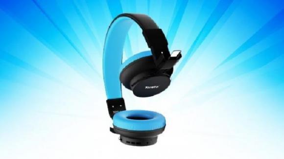 Toreto Blast: ecco le cuffie ibride con Bluetooth 5.0 e autonomia di 9 ore