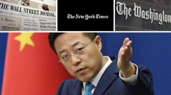 La Cina espelle tredici giornalisti americani