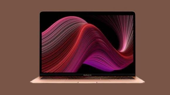 MacBook Air: rinnovato con chip Intel di 10a generazione e nuova tastiera