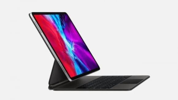 iPad Pro: Apple dota il tablet professionale di tastiera con trackpad e sensore LIDAR
