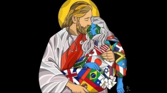 Coronavirus: Gesù, buon pastore, si fa carico dell'umanità
