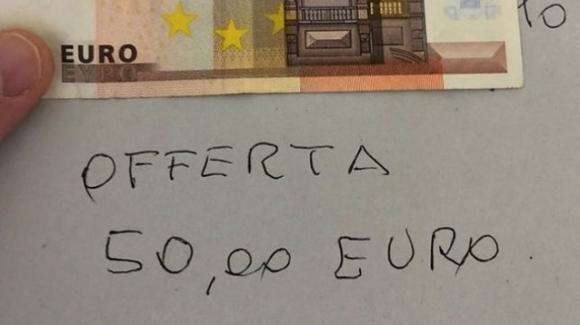 Coronavirus: va in ospedale e lascia un biglietto con 50 euro per il reparto di terapia intensiva