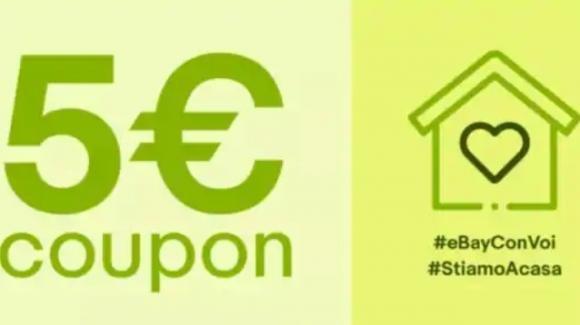 #ebayconvoi #restiamoacasa: codici sconto per risparmiare su Ebay
