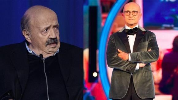 """GF Vip aspramente criticato, Maurizio Costanzo: """"A tutto c'è un limite"""""""