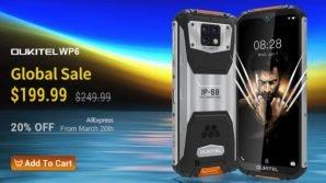 Oukitel WP6: ufficiale il rugged phone con batteria monstre e super postcamera