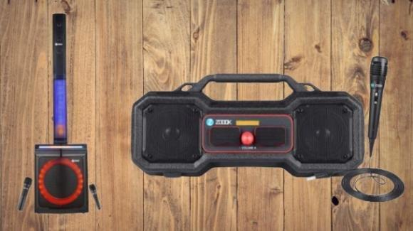 ZOOOK presenta un party speaker e uno smart speaker per gli amanti del karaoke