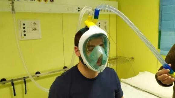 Coronavirus, maschera da sub trasformata in respiratore