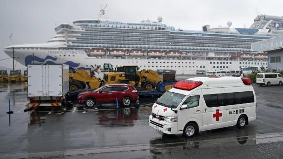 Coronavirus sopravvissuto sulle superfici della Diamond Princess 17 giorni dopo lo sbarco dei passeggeri