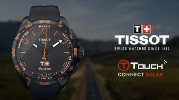 Tissot T-Touch Connect Solar: in arrivo lo smartwatch ibrido con carica solare