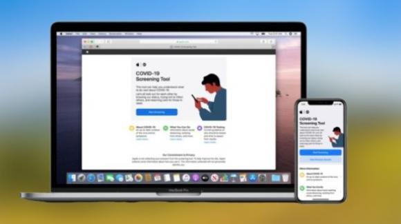 COVID-19: Apple pubblica un sito web (e un app) a scopo di informazione pubblica