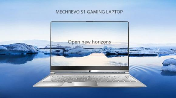 MECHREVO S1: in promo l'ultrabook low cost, con Windows 10, per il gaming