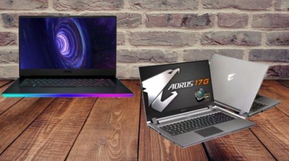 Da Taiwan è sfida tra MSI e Gigabyte per i gaming notebook con Intel 10a gen
