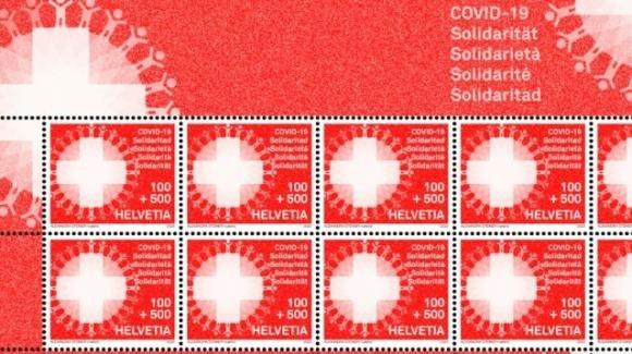 Il coronavirus come soggetto di alcuni francobolli nel mondo