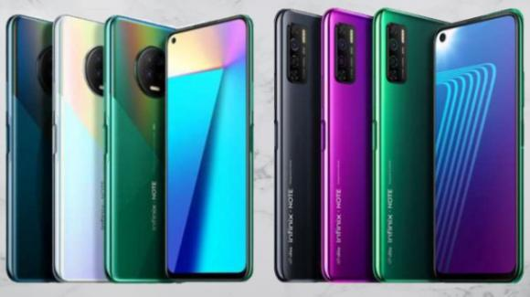 Infinix Note 7 e Infinix Note 7 Lite: ufficiali i phablet ultra low cost