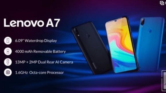 Lenovo A7: ufficiale lo smartphone economico con dual postcamera